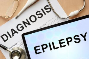 epiilepsy symptons on clipboard